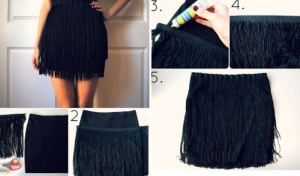 Fringe Skirt – DIY Tutorial by beautifulshoes.org