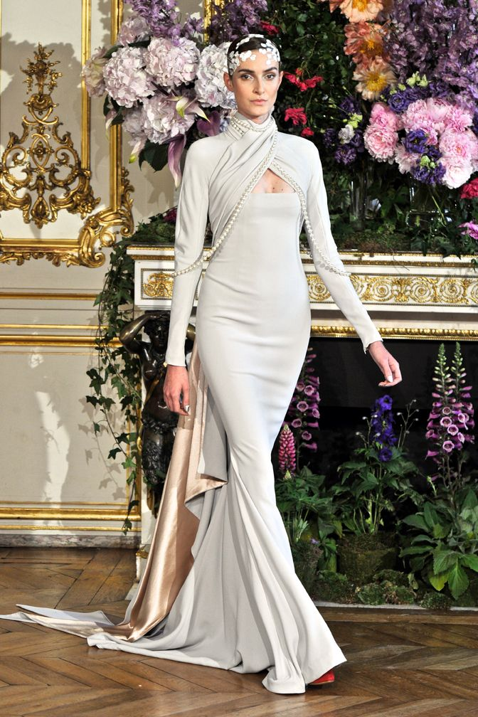 Alexis Mabille fall winter HC 1314 fashion show