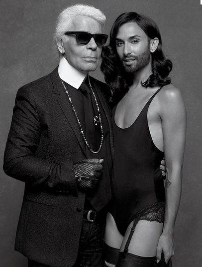 Photographs by Karl Lagerfeld for CR Fashion Book
