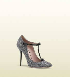 Gucci herringbone high-heel pump on pinterest