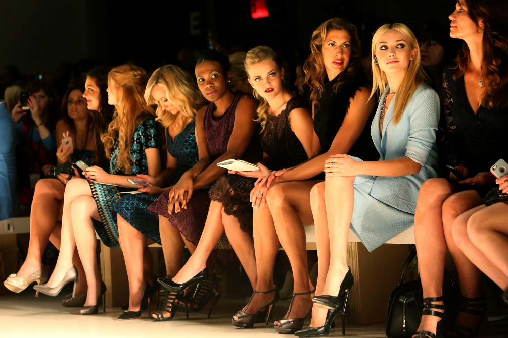 NY: Nanette Lepore - Front Row - Mercedes-Benz Fashion Week Spring 2015