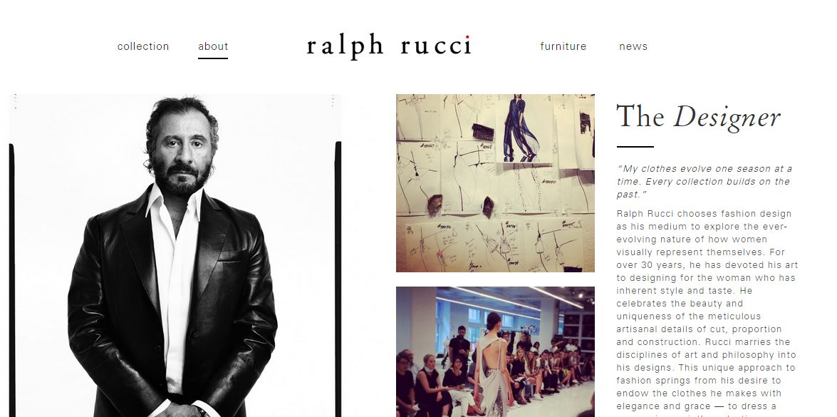 Courtesy of Ralph Rucci