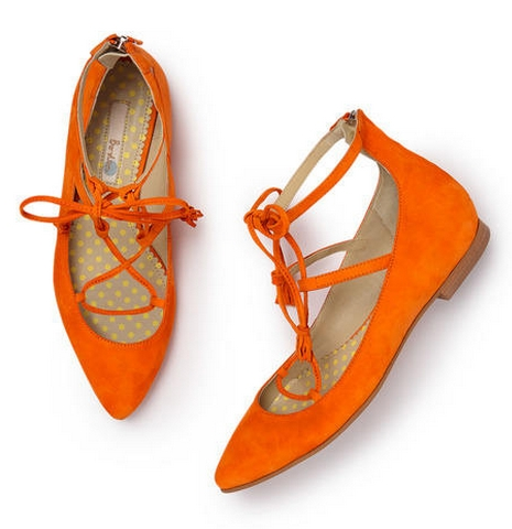 BODEN Lille Lace-up Point ($138.00)