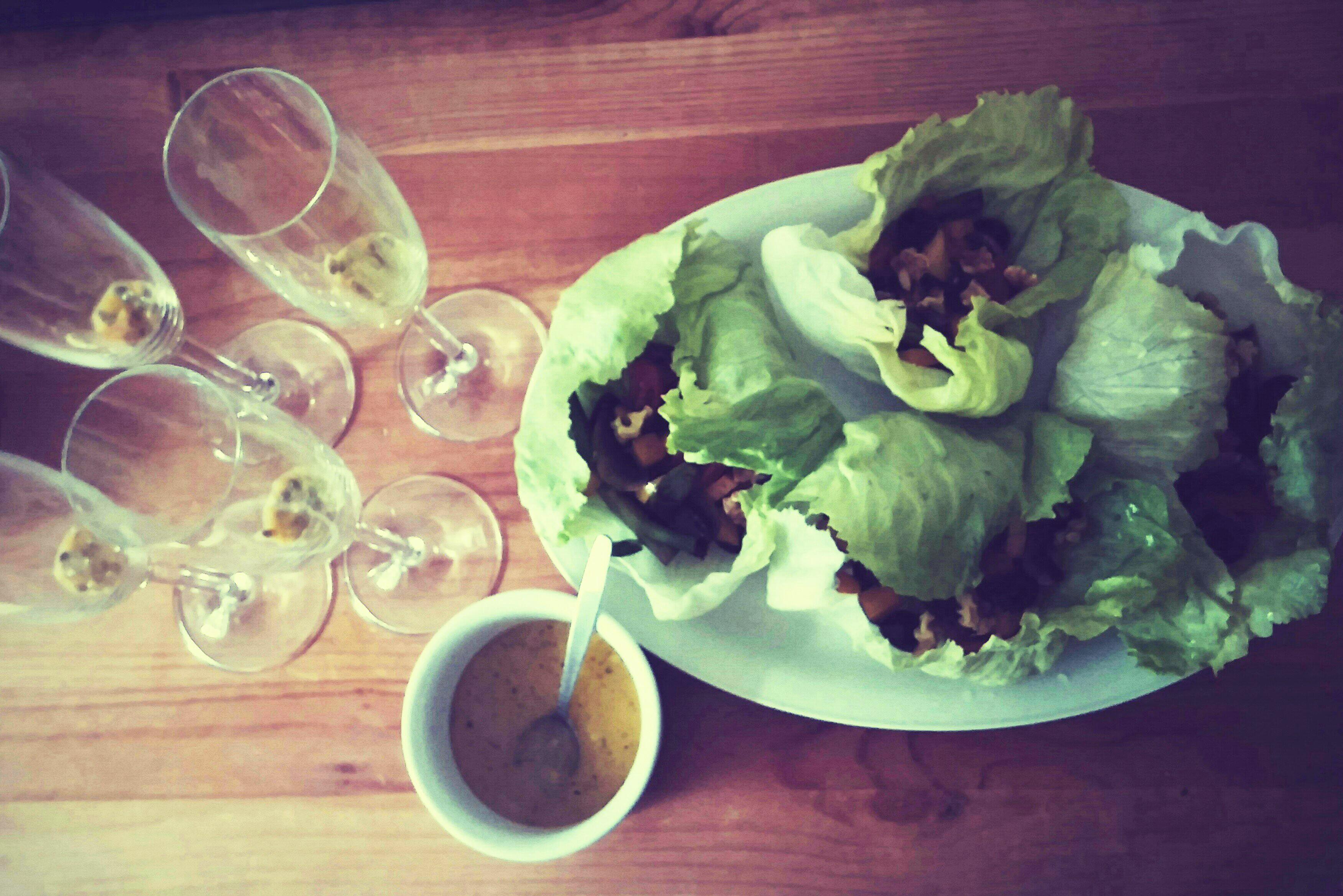 Rouleaux de salade Niçoise